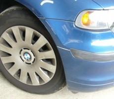 BMWの鈑金修理事例のサムネイル