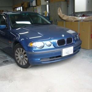 BMWの鈑金修理事例