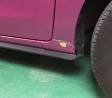 小平市のお客様三菱・ミラージュの修理依頼のサムネイル