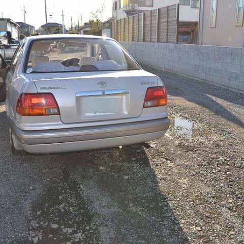 トヨタ・カローラの鈑金修理事例(2)のサムネイル