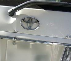 トヨタ・アルファードの鈑金修理事例(1)のサムネイル