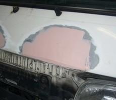 トヨタ・ハイエースの鈑金修理事例(7)のサムネイル