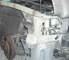 ジャガー・XJ-6の鈑金修理事例のサムネイル