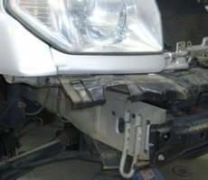 三菱・パジェロの鈑金修理事例(1)のサムネイル