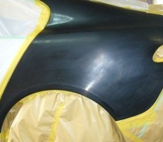 ジャガー・XFの鈑金修理事例のサムネイル