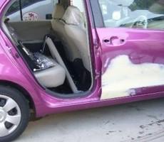 トヨタ・ビッツの鈑金修理事例(1)のサムネイル