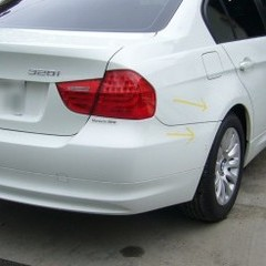 BMWの鈑金修理事例(2)
