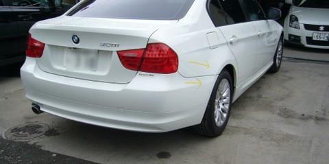 BMWの鈑金修理事例(2)のサムネイル