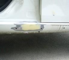 ダイハツ・ムーブコンテの鈑金修理事例(1)のサムネイル