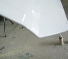 日産・キューブの鈑金修理事例(2)のサムネイル