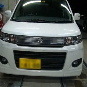 スズキ・ワゴンRの鈑金修理事例(10)