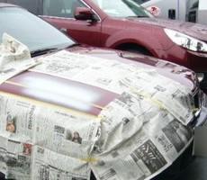 BMWの鈑金修理事例(3)のサムネイル