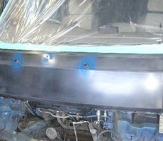 いすゞ・ファーゴの鈑金修理事例(1)のサムネイル