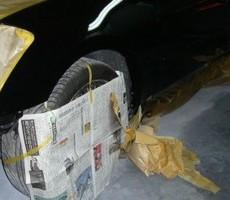 日産・フーガの鈑金修理事例(2)のサムネイル