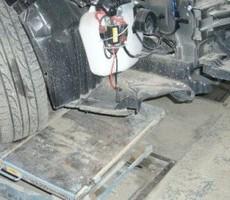 スバル・エクシーガの鈑金修理事例のサムネイル