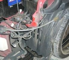 トヨタ・ウィッシュの鈑金修理事例(4)のサムネイル