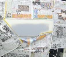 ホンダ・オデッセイの鈑金修理事例(1)のサムネイル