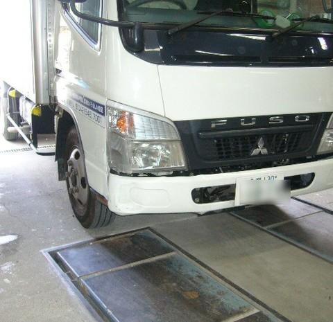 三菱・キャンタの鈑金修理事例(2)のサムネイル