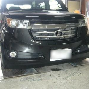トヨタ・Bbの鈑金修理事例(1)