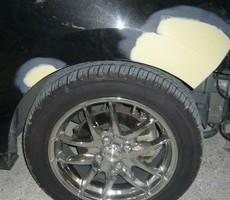トヨタ・Bbの鈑金修理事例(1)のサムネイル