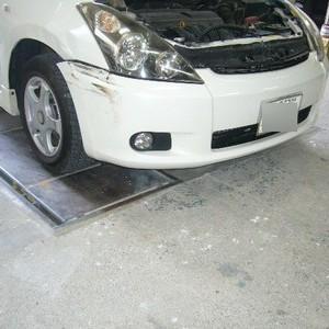 トヨタ・ウィッシュの鈑金修理事例(2)