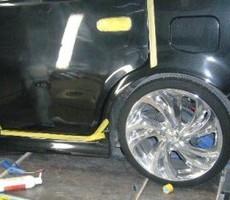 トヨタ・Bbの鈑金修理事例(4)のサムネイル