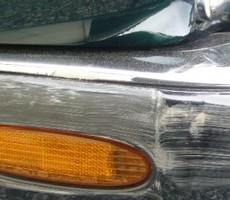 ジャガーの鈑金修理事例のサムネイル