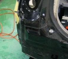トヨタ・プリウスの鈑金修理事例のサムネイル